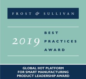 Best Practices Award from Frost & Sullivan in 2019