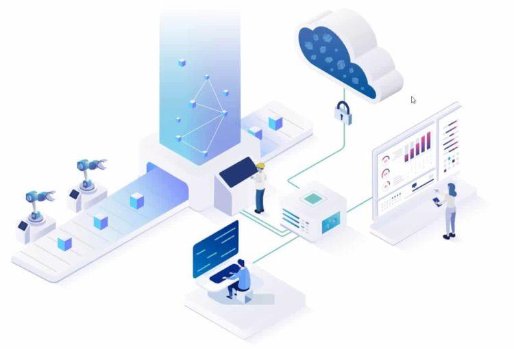 FORCAM MES Lösungen integriert in der IIoT Plattform.